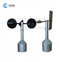 三杯式风速风向仪-WD12/10三杯式风速风向传感器工作原理-天星智联气象设备厂家